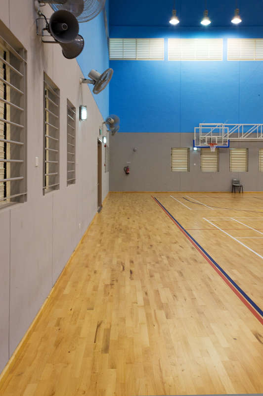 Henry Park SS- Junckers Sports flooring