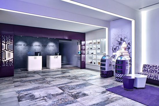 Copy of Yotel@ Orchard- Armourcoat Smooth finish with custom Stencils for logo
