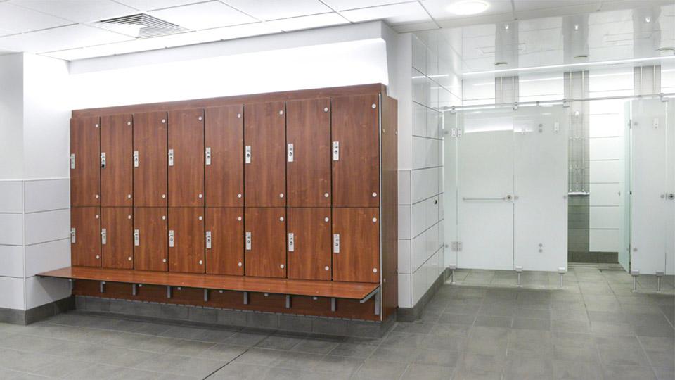 Laminate Door lockers