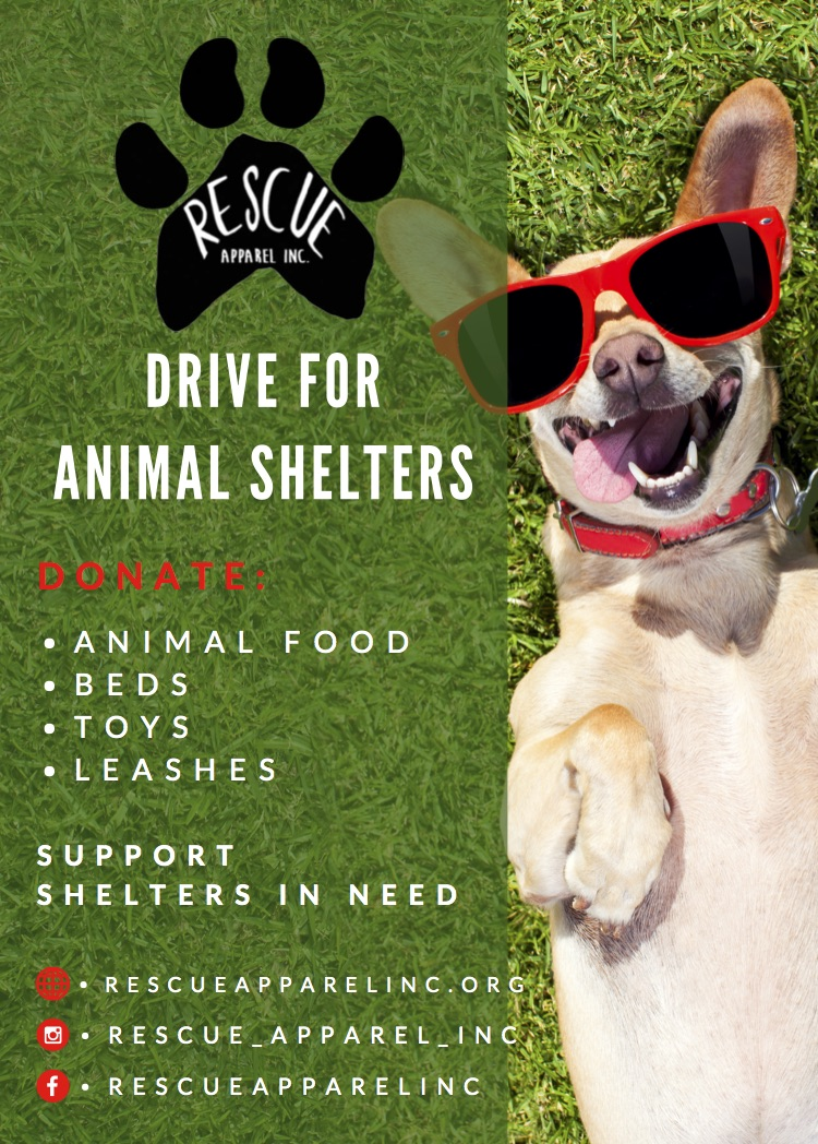 Start Supporting the Drive Today - With your support we are able to donate every three months to different shelters in need around the world.