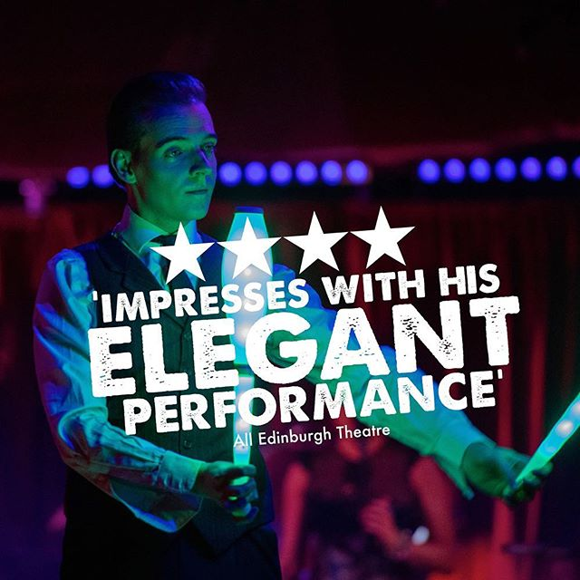 More AMAZING reviews for La Clique Noël at @edinburghschristmas limited tickets left before New Year