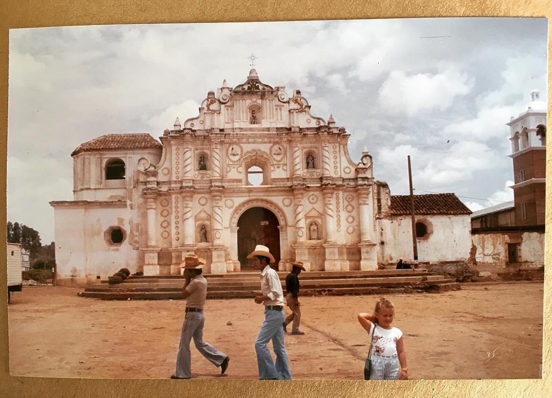 Pitchoune au Guatemala | 1987? - Photo by Daddy