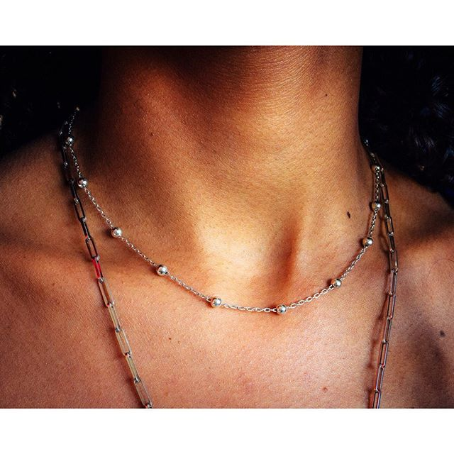 "{ENG} ""STARS"" choker necklace 