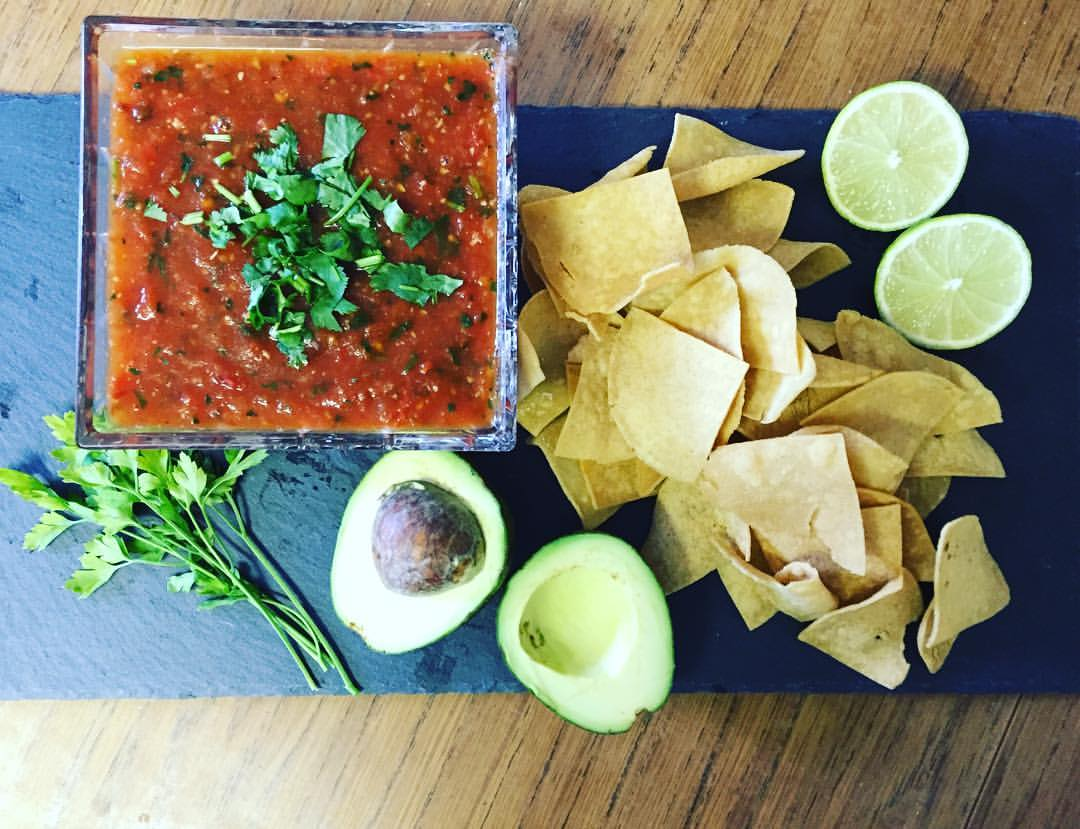 Tortillas Chips and Salsa Roja.jpg