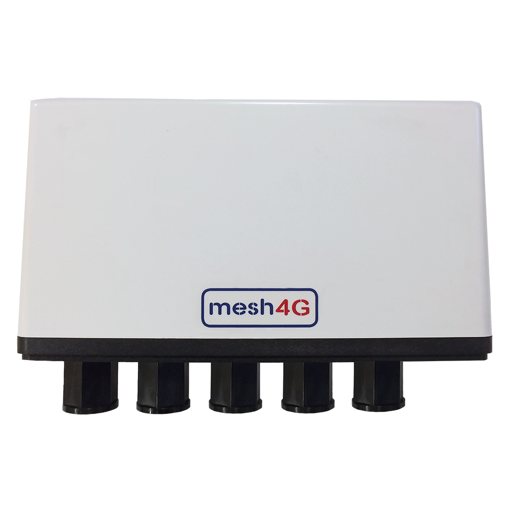 Mesh Adaptor - The primary building block of Mesh infrastructure, it is capable of connecting and powering up to 4 devices