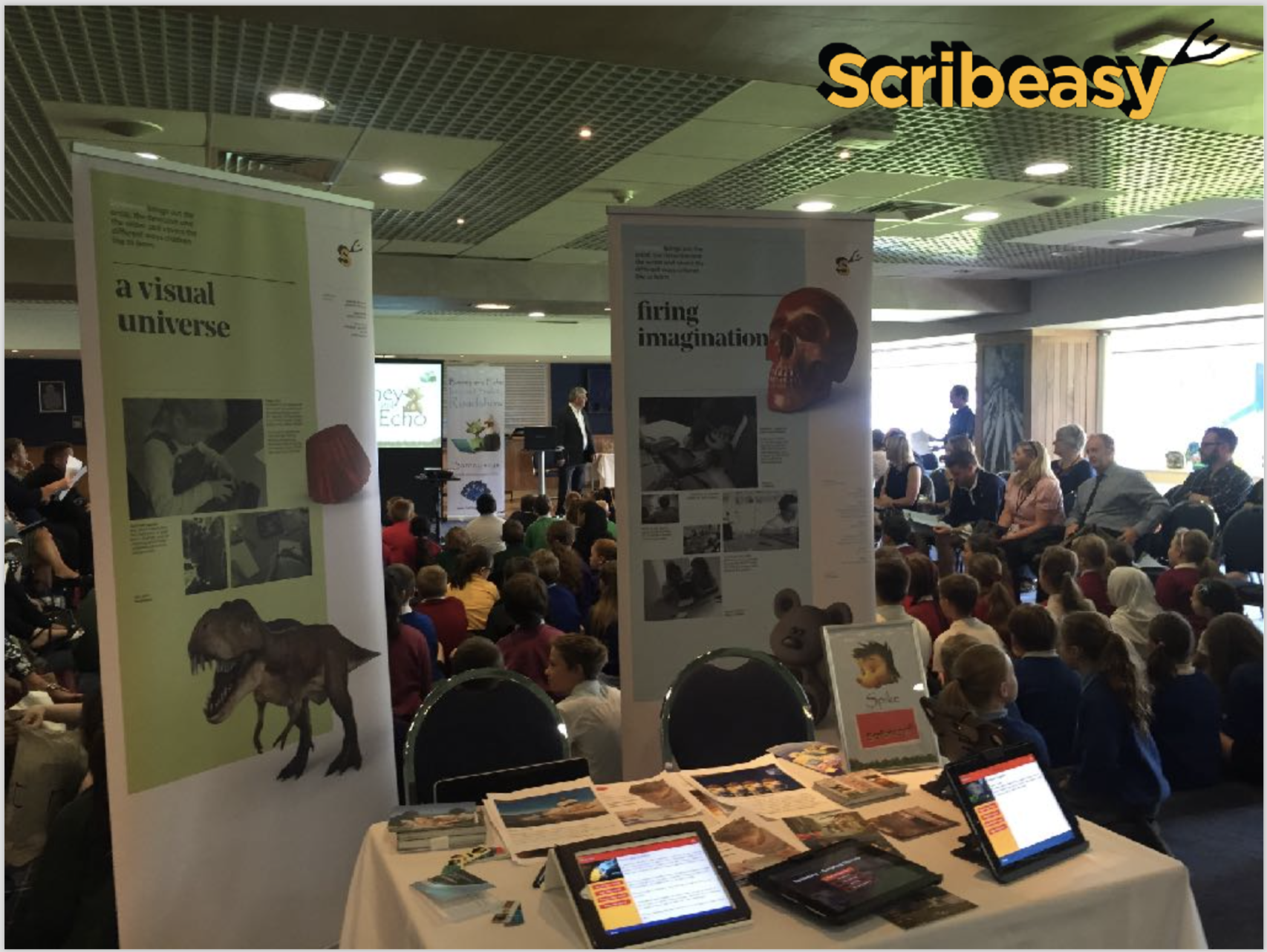 We have started the Scribeasy road show…