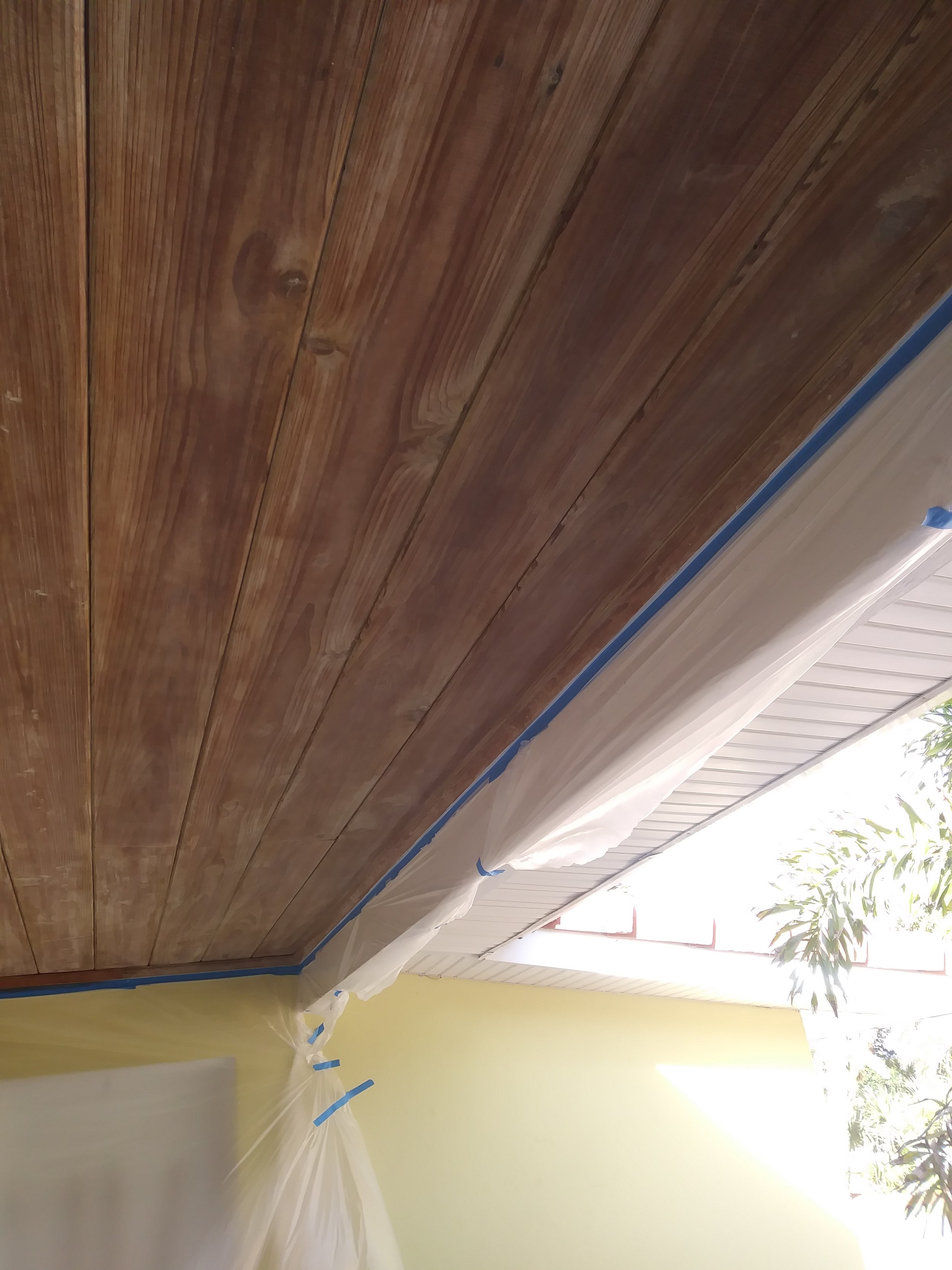 Tongue And Groove Ceiling Stain In Indialantic Fl Customize Brevard Interior And Exterior Painting Serving Brevard County Fl