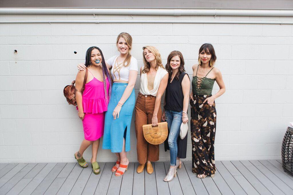 Pictured (left to right): Drea Johnson, Rose Jubb, Hannah Aronowitz, Corey Gregg, Nicole Burron