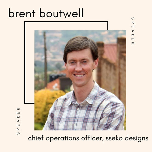 Brent bout well Sseko designs speaker at the sustainable fashion forum