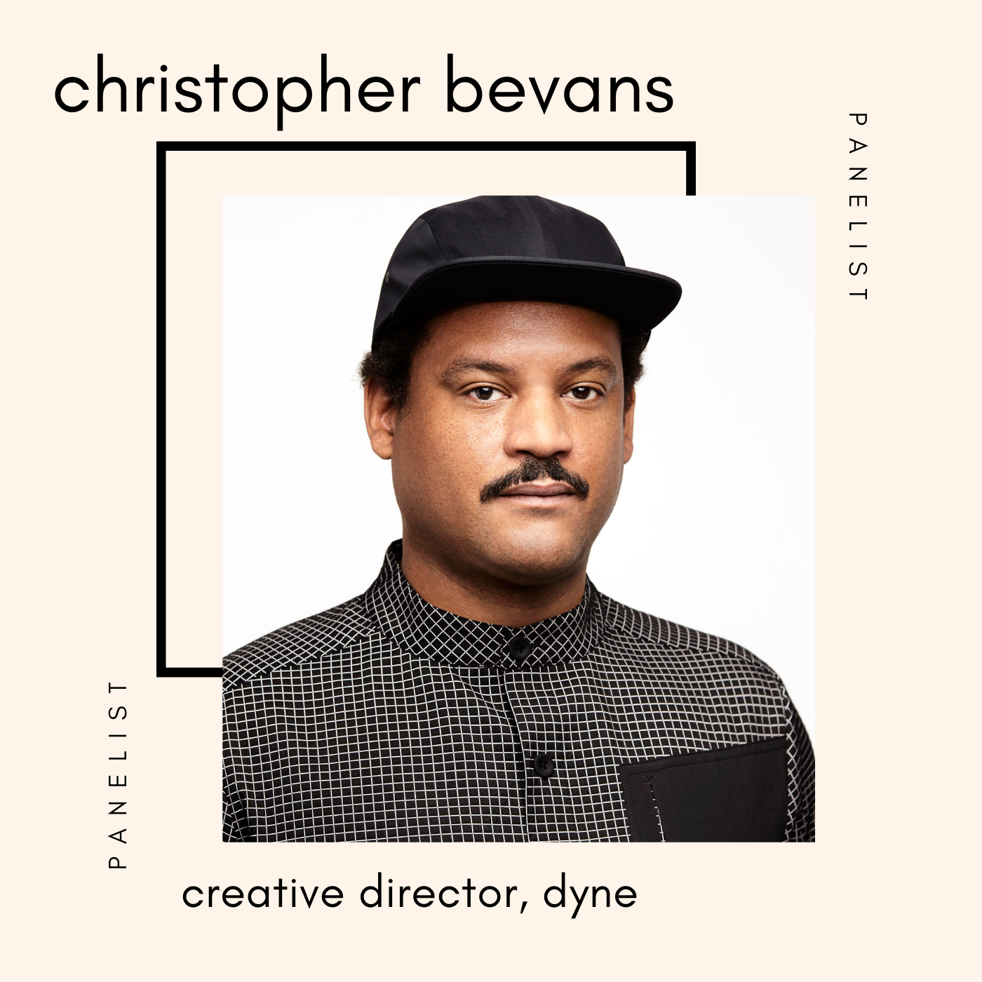 Christopher Bevans speaker at the sustainable fashion forum