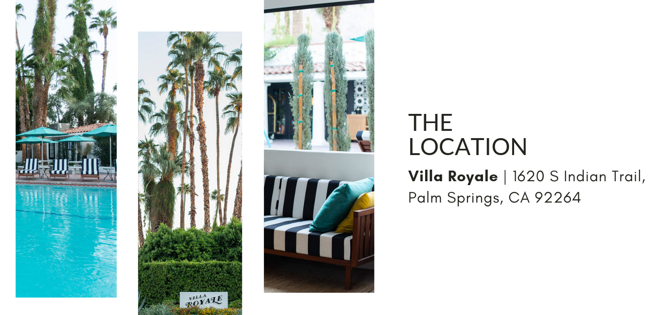 the sustainable fashion forum - Palm Springs pop up
