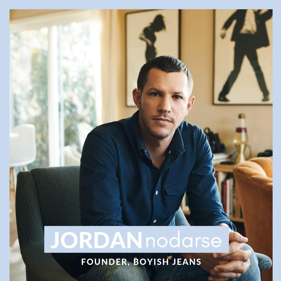 Jordan Nodarse - Boyish Jeans