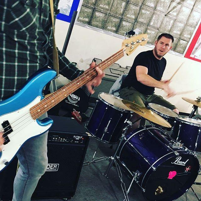 John always looks annoyed... it's because he is!!! Always!! . . #Weknowjohn #poppunk #ukpoppunk #punkrock #poppunksnotdead #punk #band #bandlife #drums #drummer #bass #bassguitar #bassist #bandpractice #unsignedartist #bandphotography #rock