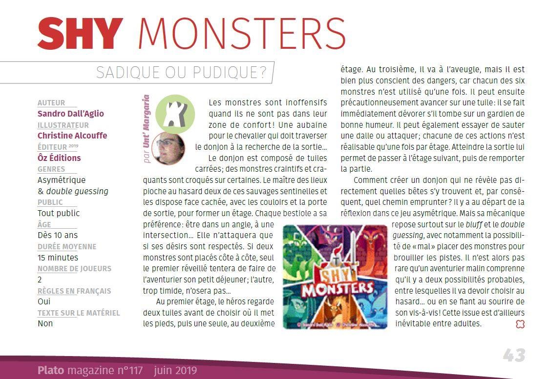 Shy Monsters - Plato