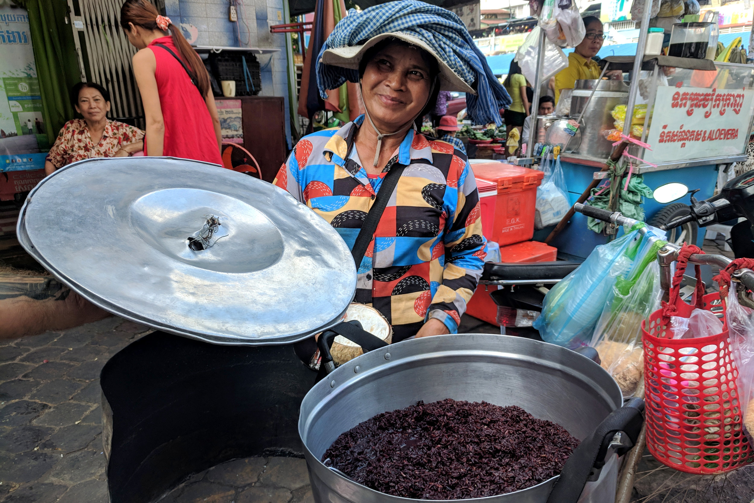 Phnom Penh Food Tours tries out market stalls a few times before bringing guests
