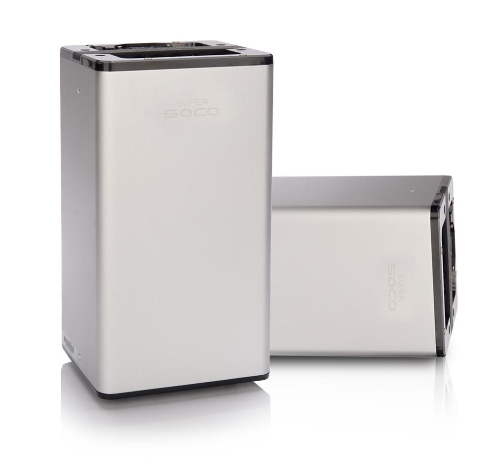 ….Kraftfullt lithium batteri..Powerful lithium battery..Powerful lithium battery..Powerful lithium battery..Powerful lithium battery.... - ....18650 höhkapacitets batteri. Super SOCO TC är utrustad med 2 batterilådor och försäkrar upp till 160km körsträcka...18650 high-capacity battery cellEquipped with 2 packs of batteries, can ensure range up to 160km...18650 high-capacity battery cellEquipped with 2 packs of batteries, can ensure range up to 160km...18650 high-capacity battery cellEquipped with 2 packs of batteries, can ensure range up to 160km...18650 high-capacity battery cellEquipped with 2 packs of batteries, can ensure range up to 160km.....