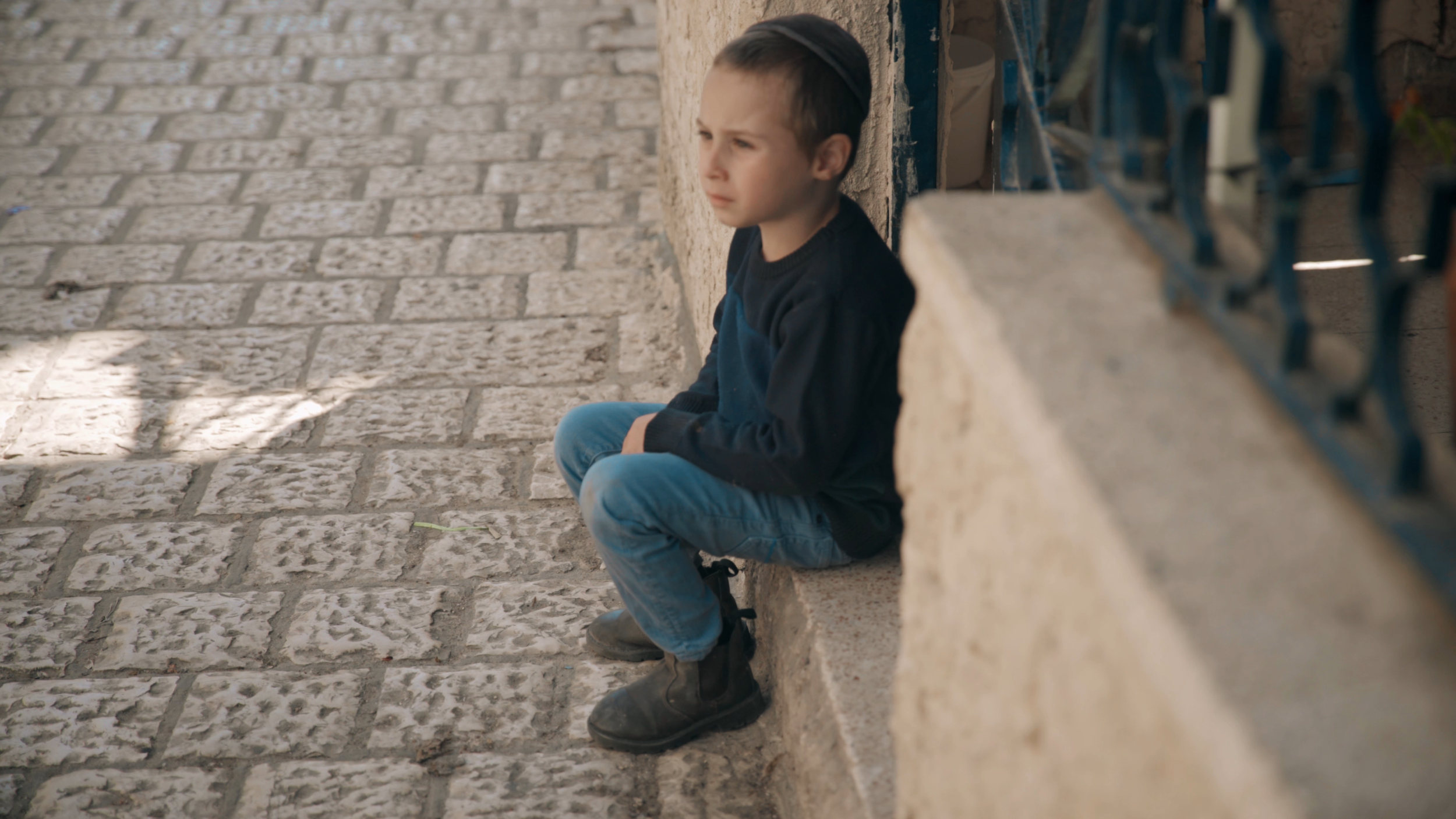 A young Jewish boy in Israel