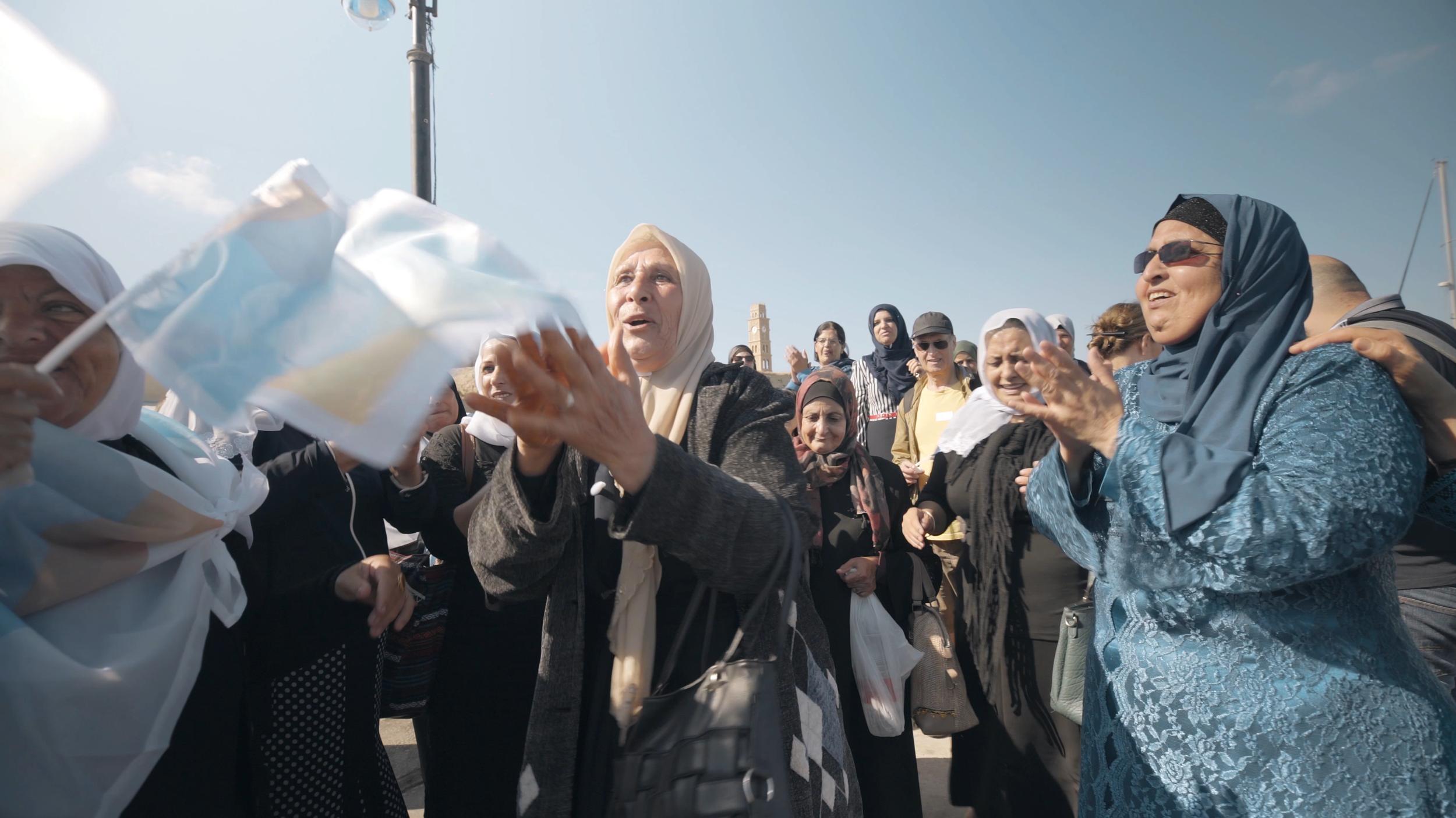 Copy of Druze women cheering
