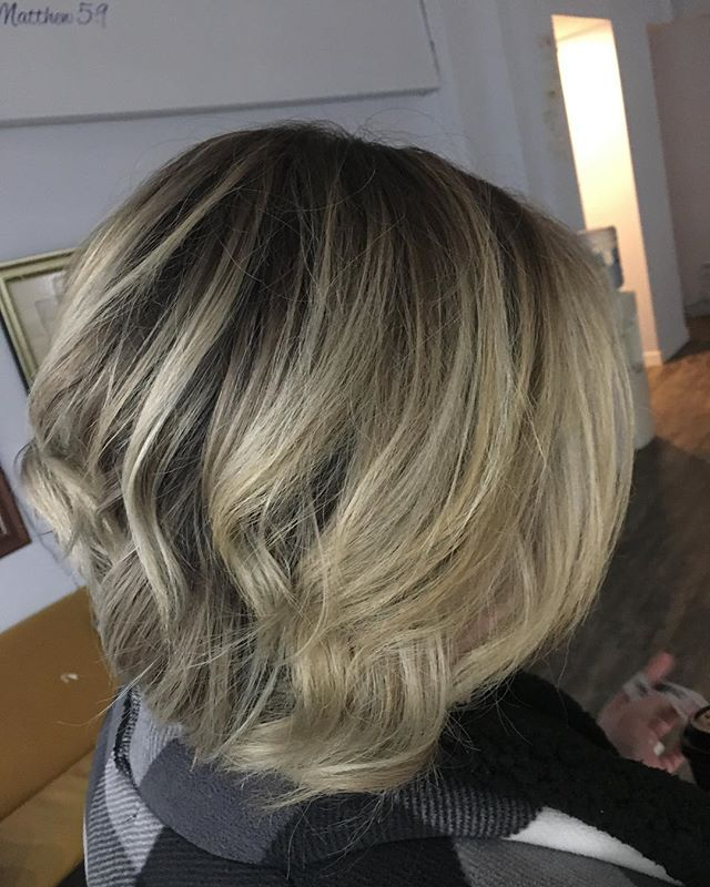#rootshadow #balayage #blondehair #haircolor