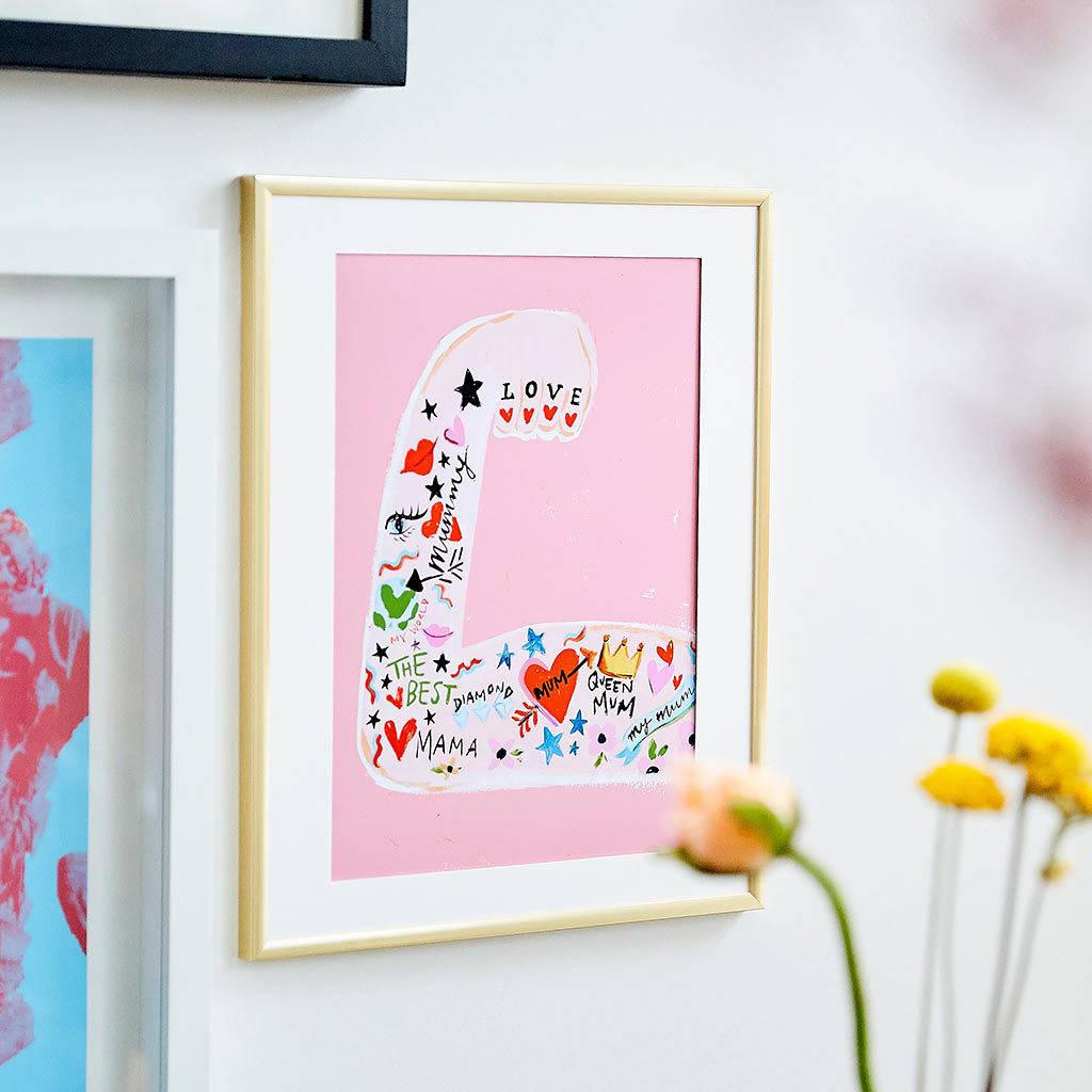 Eleanor Bowmer  Mum Strong Arm Print