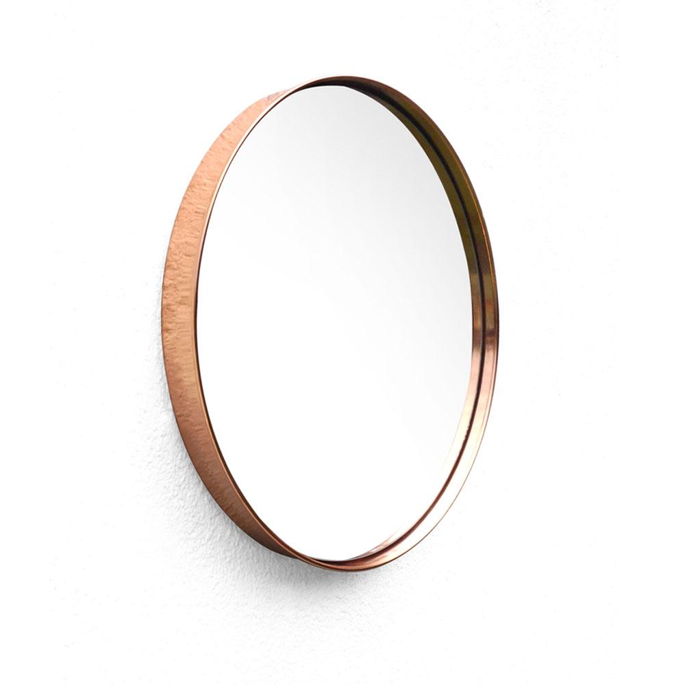 Espejo Circular Cobre Diámetro: 51 cm $6065* Precio en efectivo..