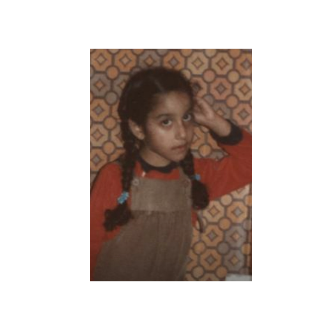 Me aged 6, angry about something.