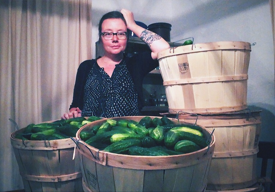 Carrie Sachse, French Street Farms Founder/Owner/Operator.