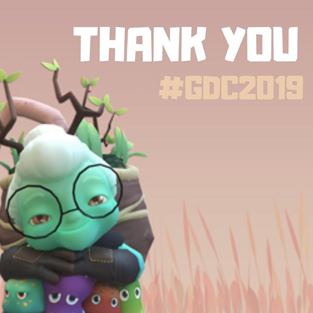 ‪We had an absolute blast at #GDC2019. Thank you from the bottom of our shrivelled hearts to every single person who came by our booth and got excited to kill a whole lot of adorable Moogu horribly. You make it all worthwhile.  #Terrorarium #GDC #GDC19‬ #indiedev #charactermodeling #indiestudio #monsters #gamedevelopment #indiegame #gamedev