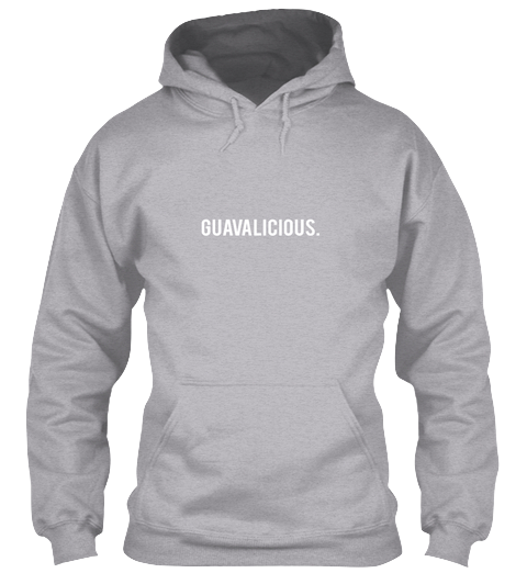 $45.00 - Keep it Guavalicious Hoody - Sport Grey
