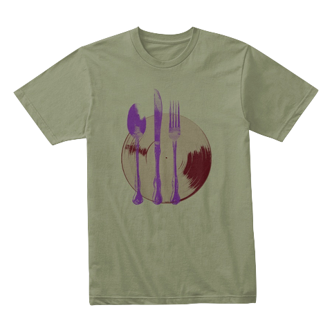 """Let's Eat"" - $30.00 - Olive T-Shirt"
