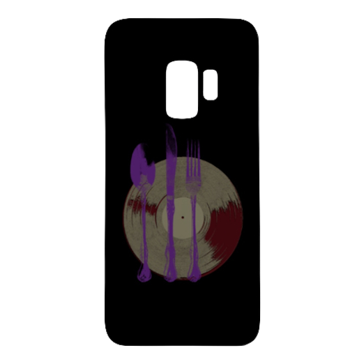 """Let's Eat"" - $19.99 - Samsung Phone Case"