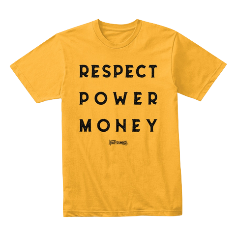 """RPM"" - $30.00 - Yellow T-Shirt"