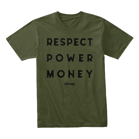 """RPM"" - $30.00 - Military Green T-Shirt"