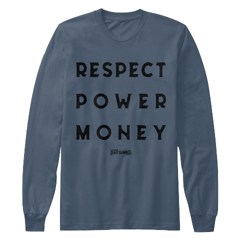 """RPM"" - $35.00 - Indigo Long Sleeve T-Shirt"
