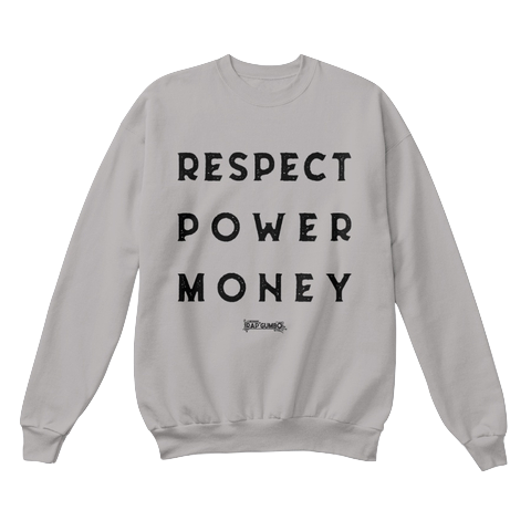 """RPM"" - $40.00 - Gray Crewneck"