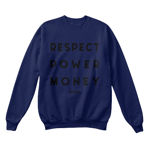 """RPM"" - $40.00 - Navy Blue Crewneck"
