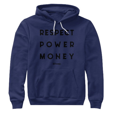 """RPM"" - $45.00 - Navy Blue Hoody"
