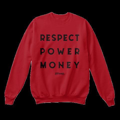 $40.00 - RPM Crewneck - Deep Red