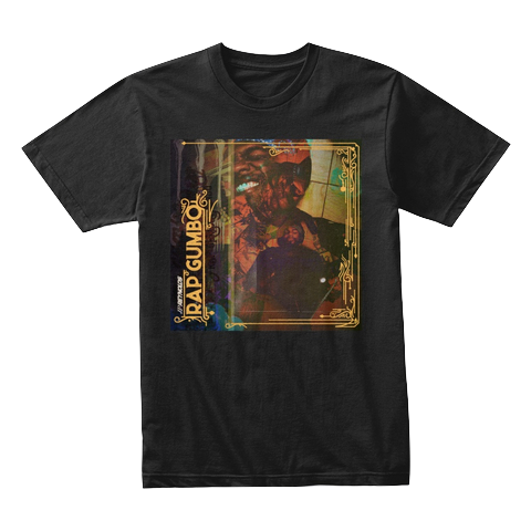 """Rap Gumbo Cover"" - $30.00 - Black T-Shirt"