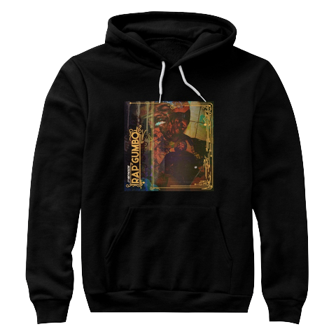 """Rap Gumbo Cover"" - $45.00 - Black Hoody"