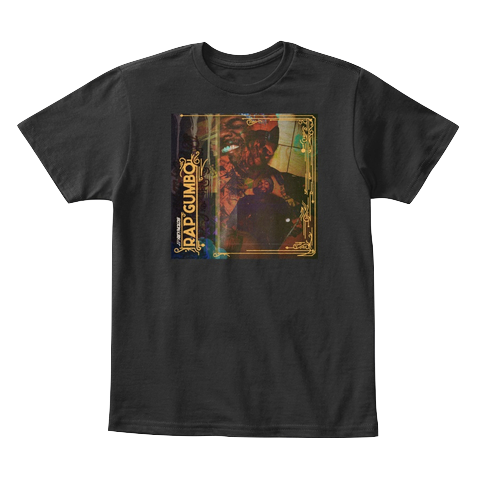 """Rap Gumbo Cover"" - $20.00 - Black Kids T-Shirt"