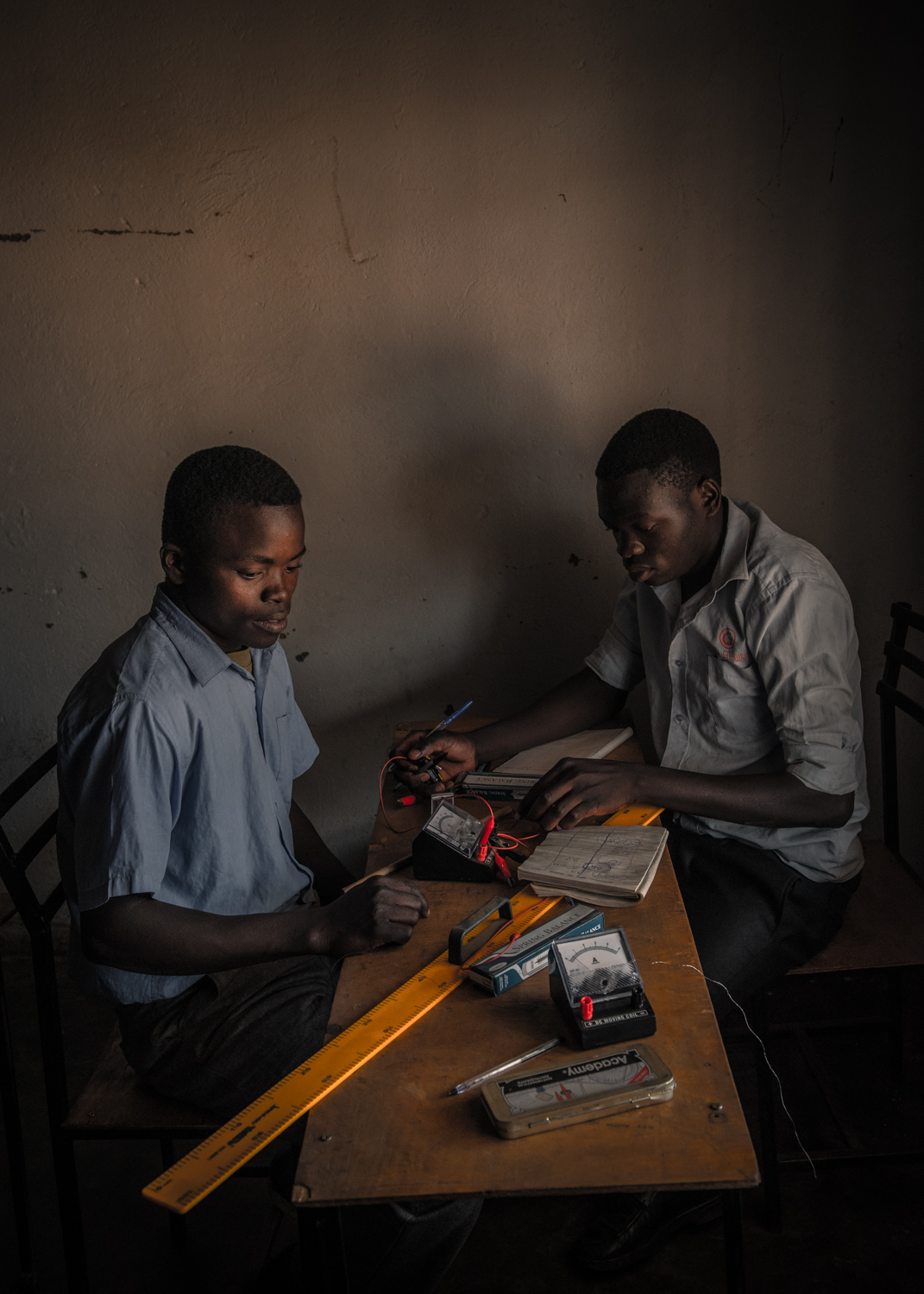 Students at Lilongwe Academy of Science