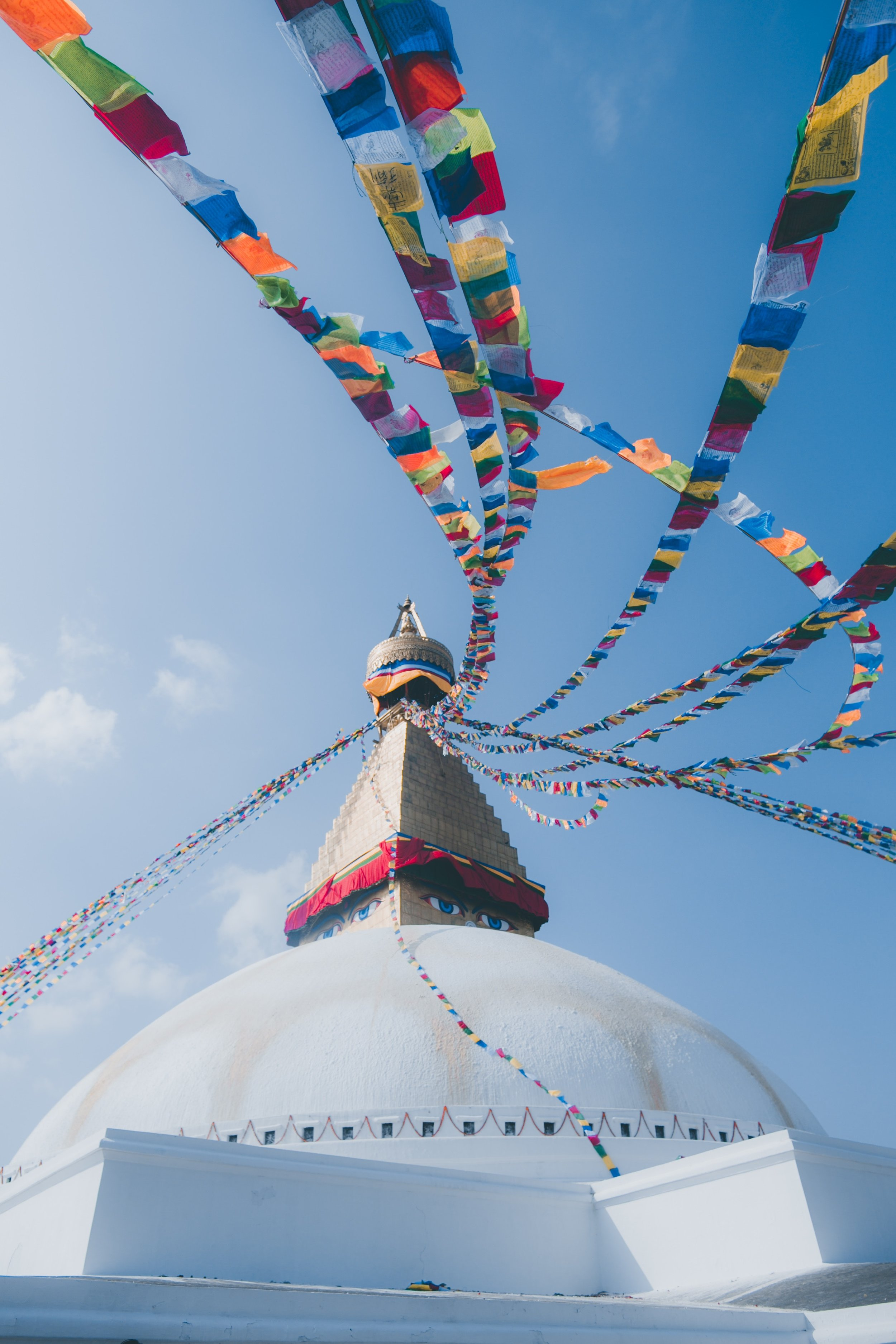 Boudhha, Kathmandu, Nepal  by  Prijun Koirala