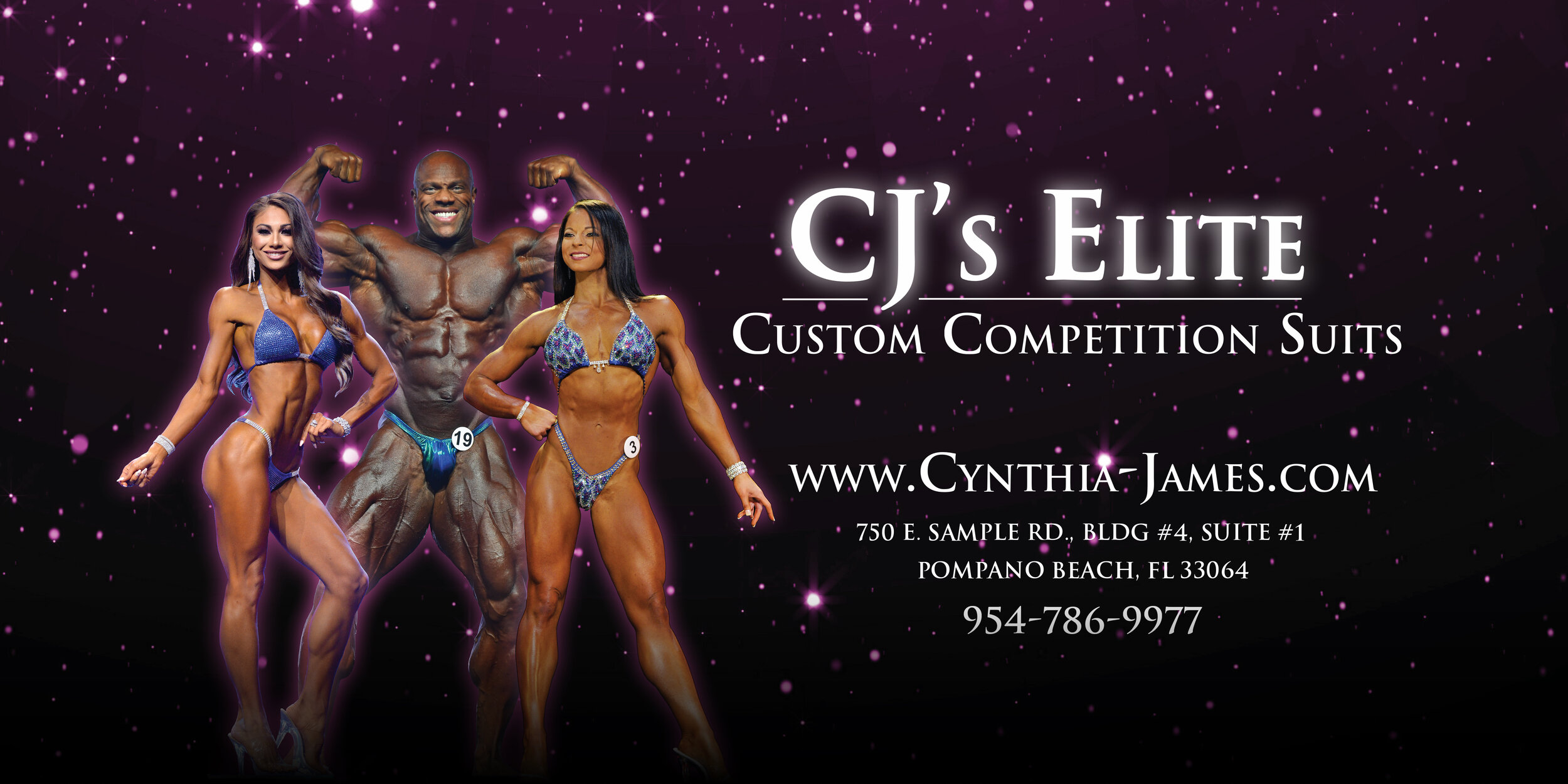 CJ's Elite Custom Competition Suits