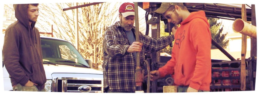 Our family began drilling water wells, and servicing water pumps in 1960.