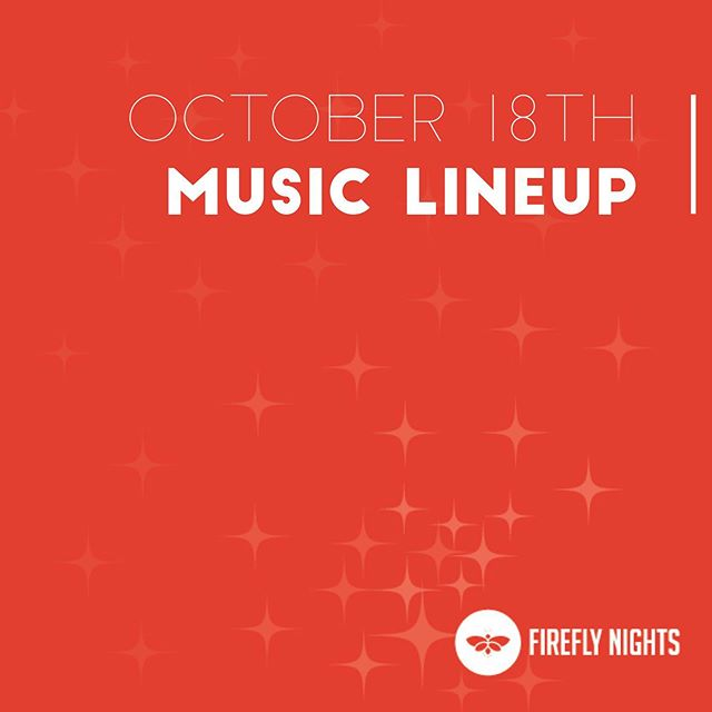 Super excited to announce our music lineup for our October festival! 🎶 Make sure you come on out to support these amazing local artists! 🎶 6:00-6:30: Inside Voices 6:45-7:30: The Coomers 7:45-8:30: Brent Lowery 9:00-10:90: Distant Cousins