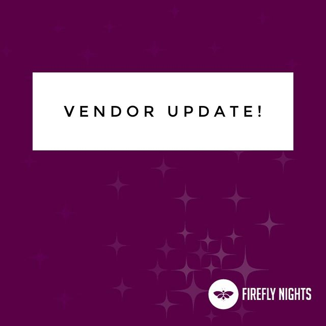 We've had an update to our vendor list for this coming Friday's festival. Sorry for any confusion this causes! • Here's who you can expect to see this Friday: CMT Crafts Little Bare Furniture CRB's Wreaths by Julie Hit Me Up Piñata Blanquility Wander and Dream Company Em Tree Bath and Body Domenicas Fine Fashions  Jump Rings Jump
