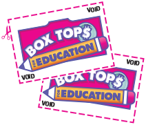 Spring Challenge is on! Save your Box Tops and win a pizza party for your class!