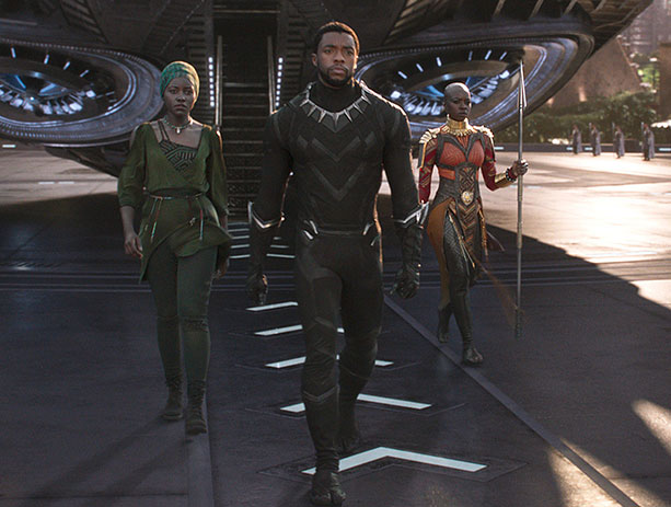 Best Costume Design: Black Panther -
