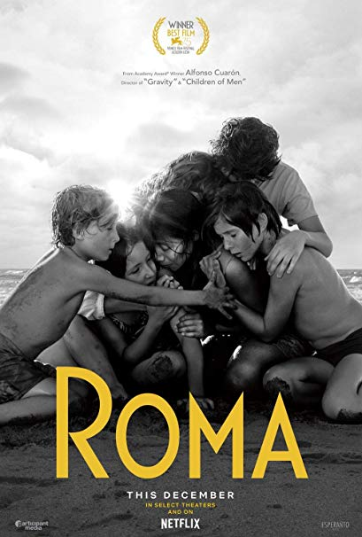 Best Original Screenplay: Roma -